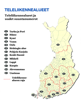 Suomen Suuntanumerot